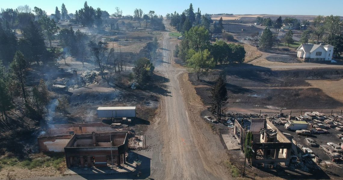 The Spokesman-Review: Bill to provide property tax relief for residents rebuilding after wildfires passes state Senate