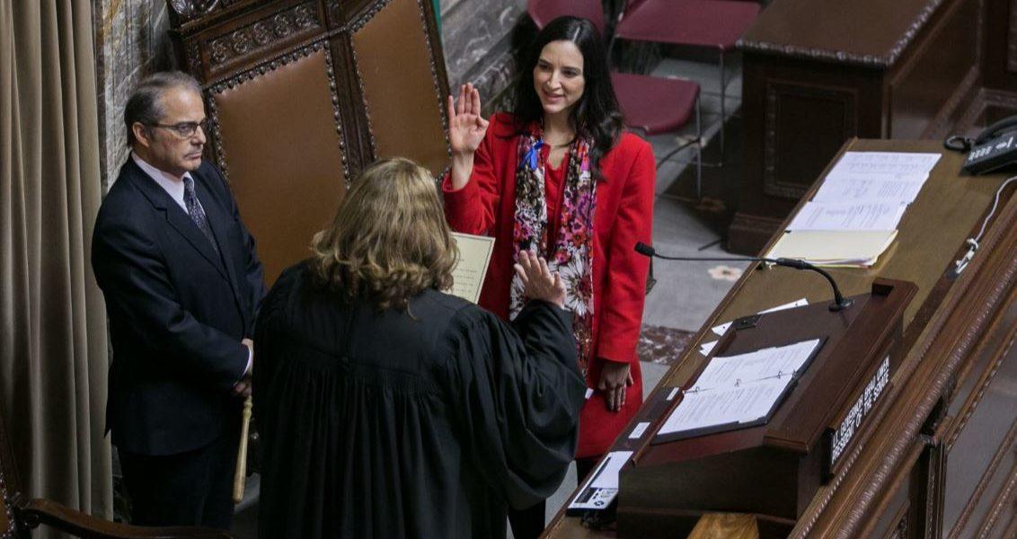 Saldaña sworn in at state Capitol