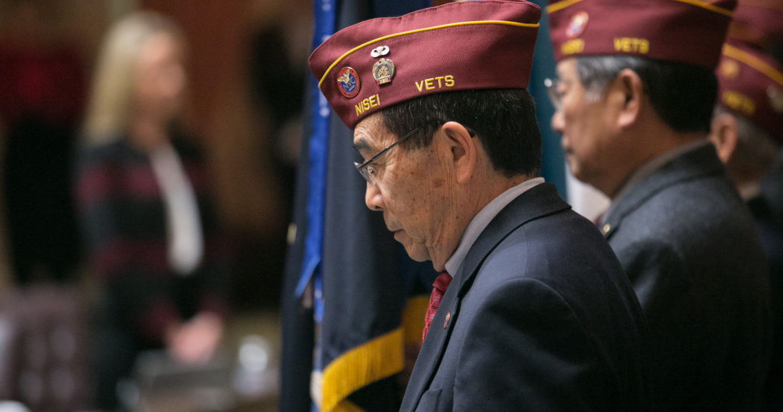 VIDEO: 'We Remember' - Democrats mark the 75th anniversary of Japanese American internment
