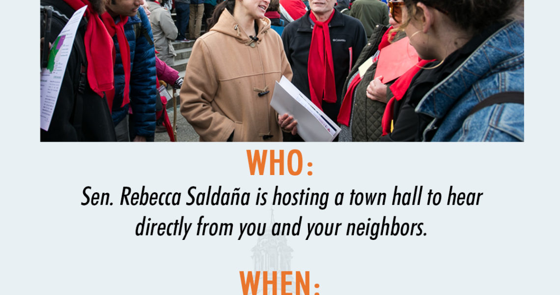 Join Me! Town Hall Meeting, March 18
