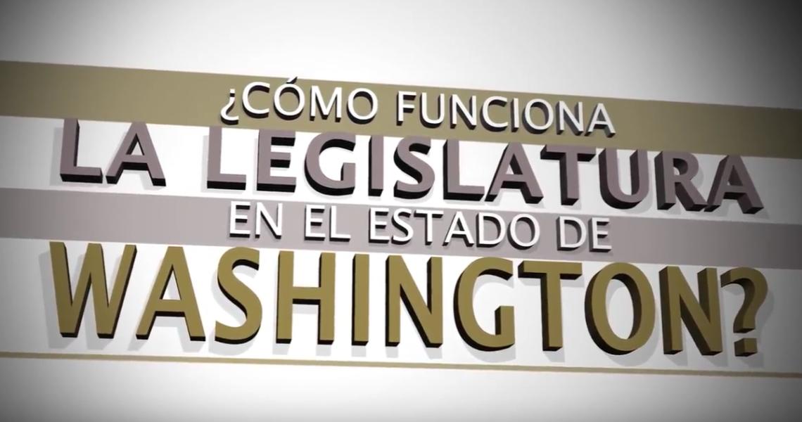 VIDEO: ¿Cómo funciona la legislatura en el estado de Washington?