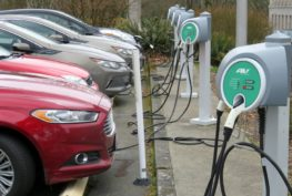 Electric cars would be billed two cents per mile in state tax under a proposal discussed in the Washington State Senate Thursday.