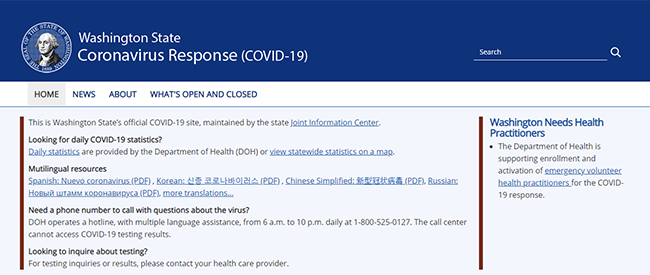 Coronavirus update: Resources for you and your family