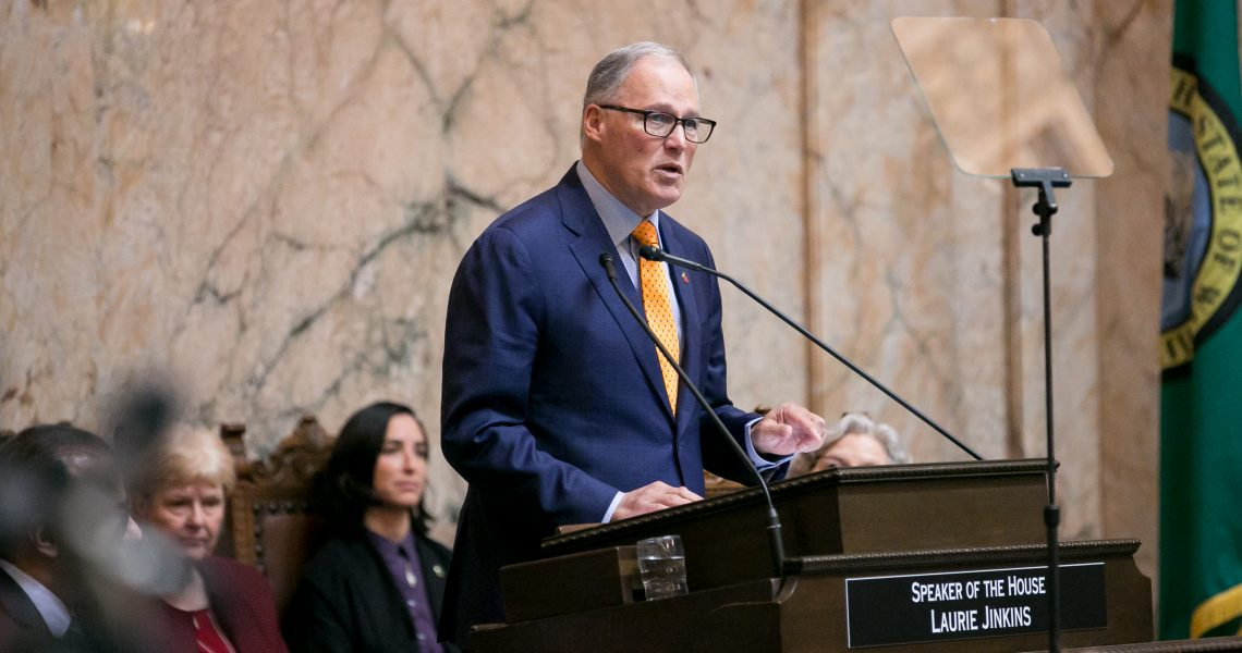 Everett Herald: Inslee keeps it simple in final State of the State this term