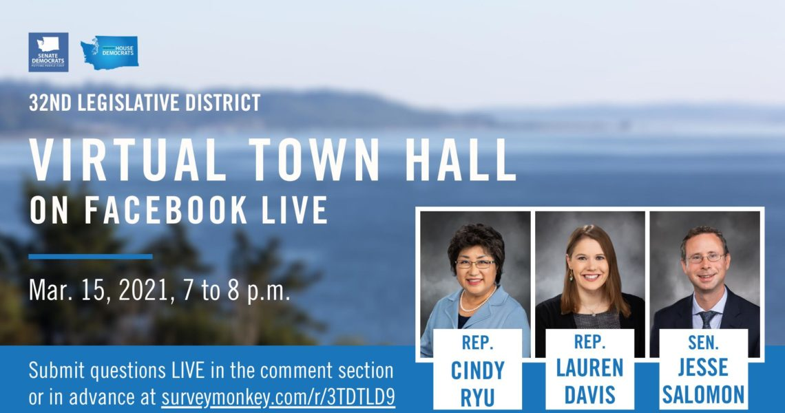 Save the Date! March 15: Virtual Town Hall