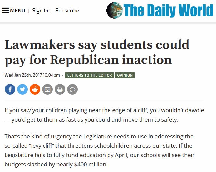 Lawmakers say students could pay for Republican inaction