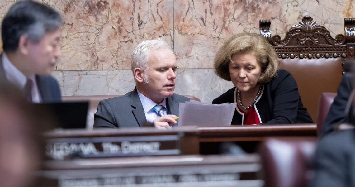 Pandemic relief is our top priority this session