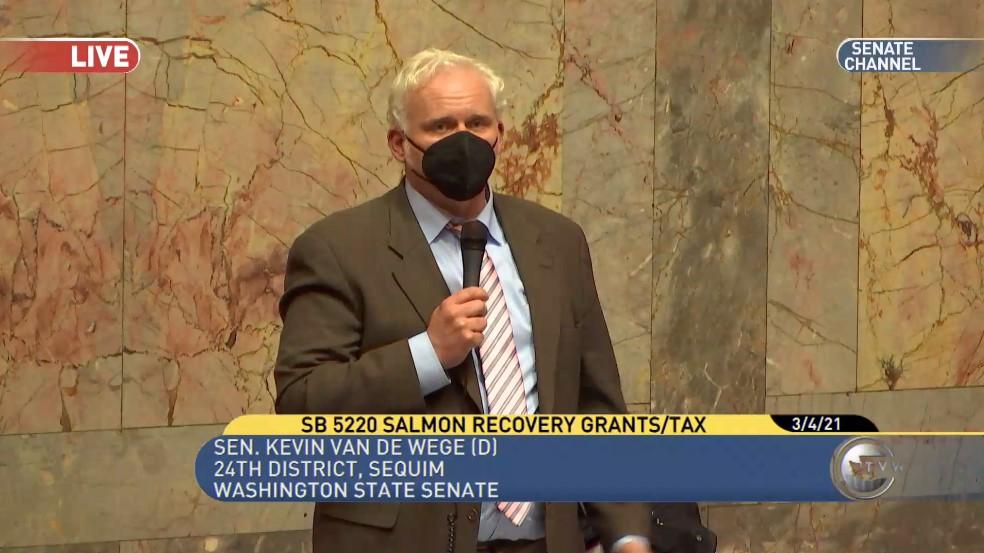 Senate passes Van De Wege bill to maximize salmon recovery funds