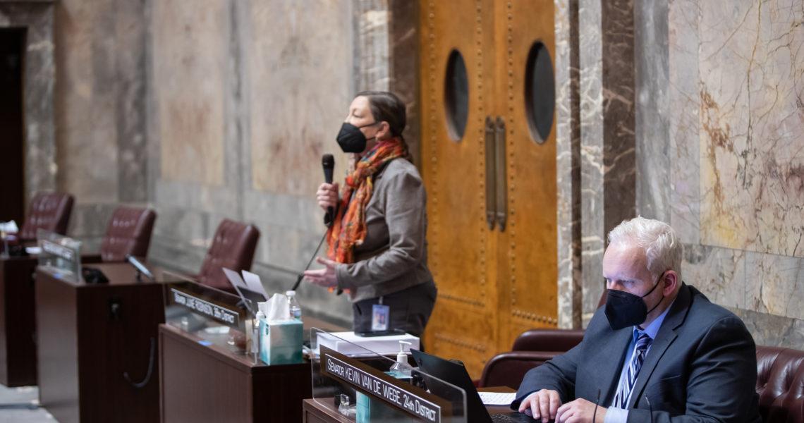 Van De Wege bill to maximize salmon recovery funds passes House