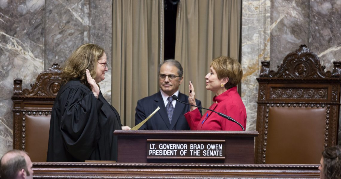 Wellman sworn into office to represent 41st District