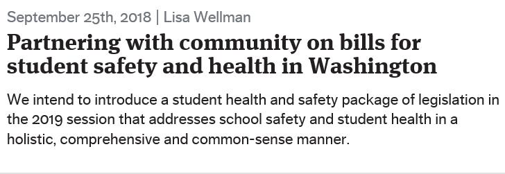 Wellman on school safety in Seattle Times