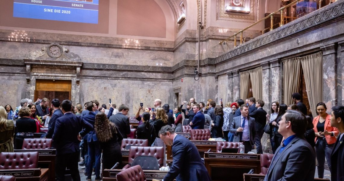 Week 15 E-News: Sine Die, State v. Blake, Chauvin trial, and more