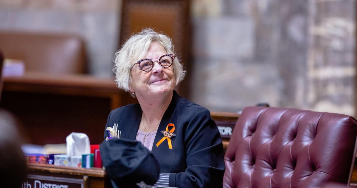 Sen. Claire Wilson receives national Sex Education Champion award