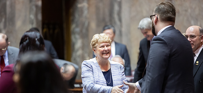 Washington state Senator Karen Keisier