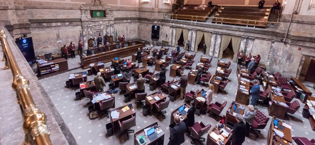 This Week in the Senate – Week 6: More floor action, the revenue forecast and an important cutoff