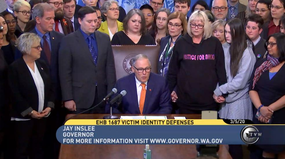 Governor approves ban on 'panic defense' in LGBTQ assault cases