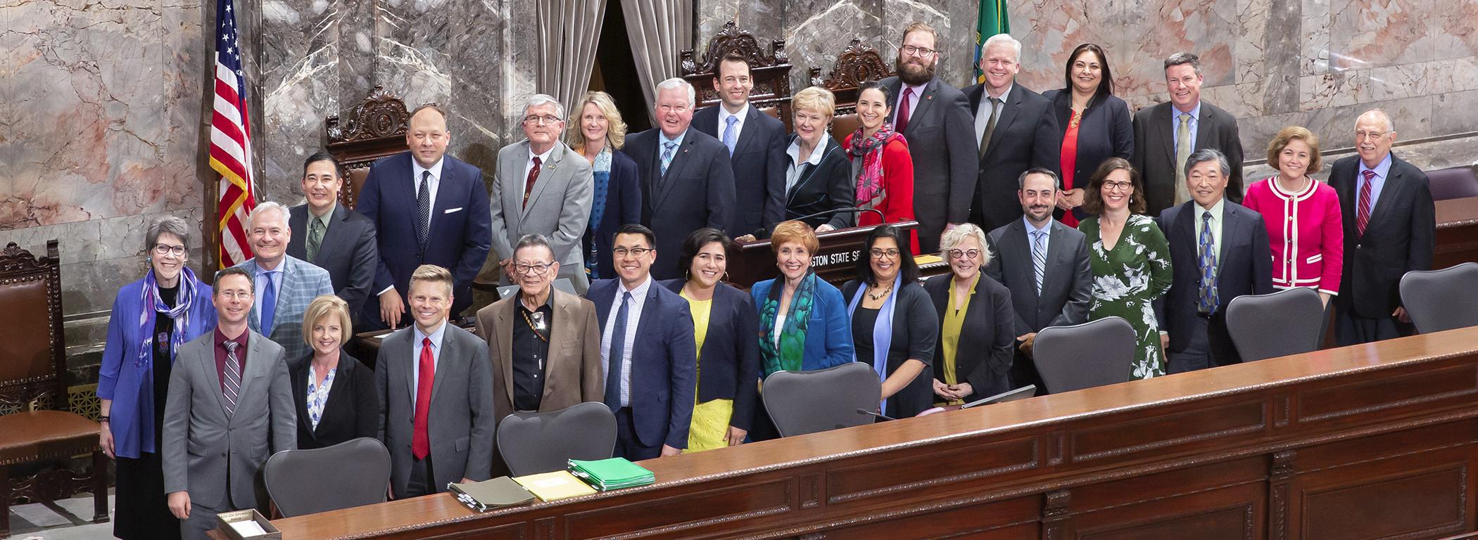 2019 WA State Senate Democrats