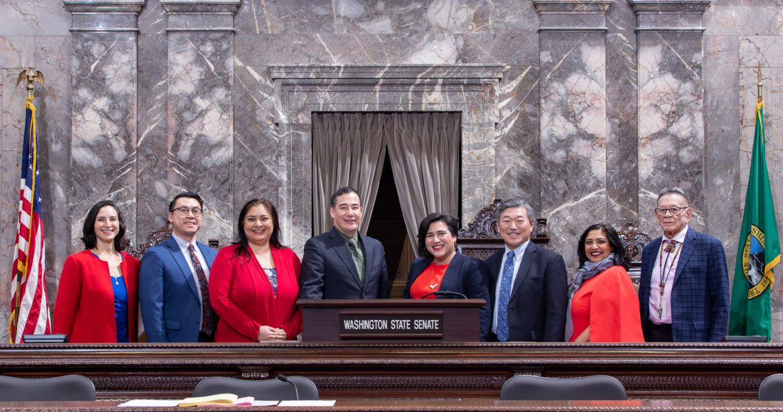 Senate Members of Color Caucus express support for governor's equity package