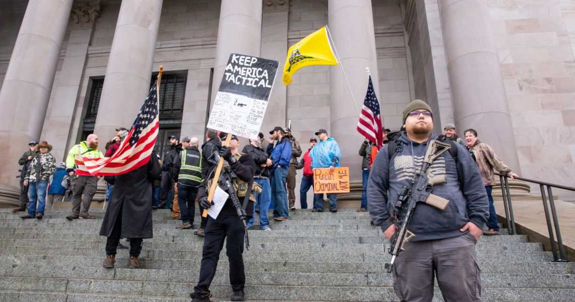 Senate committee considers Kuderer bill to ban open carry weapons at public demonstrations and legislative buildings