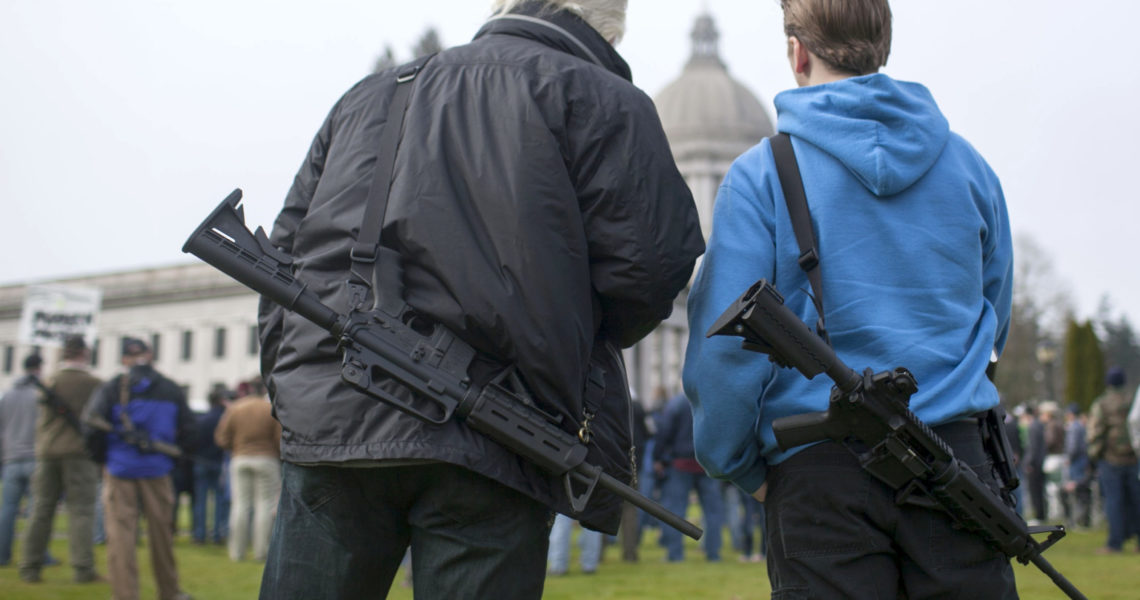 Kuderer's bill to ban open carry weapons at permitted demonstrations and Capitol campus wins House approval